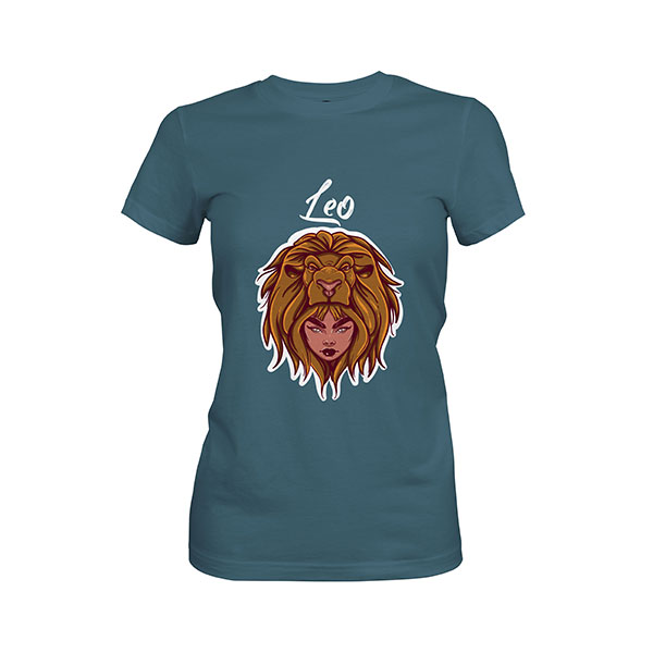 Leo T shirt indigo