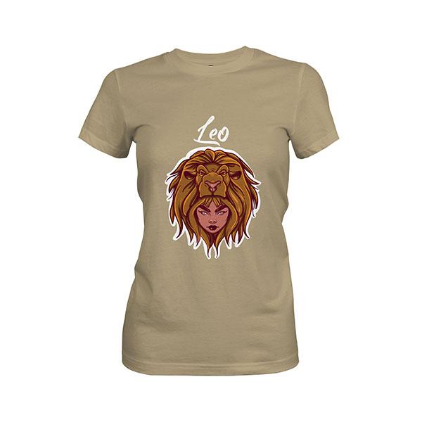 Leo T shirt light olive