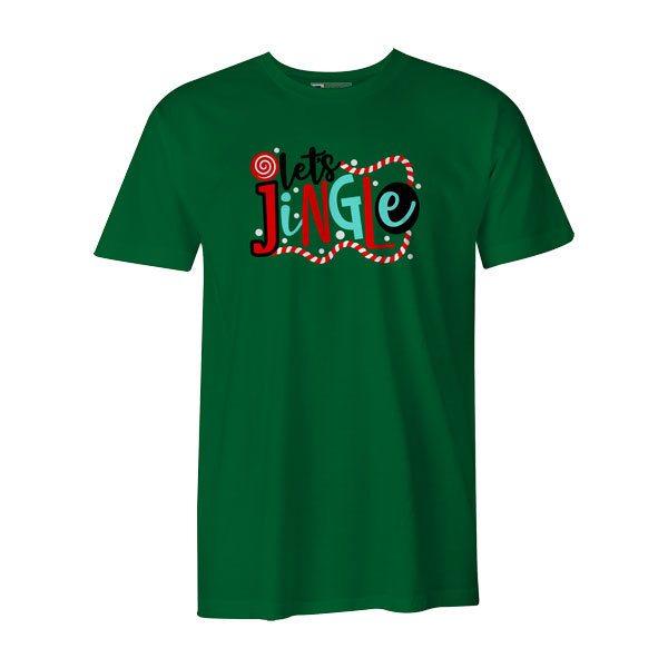 Lets Jingle T Shirt Kelly