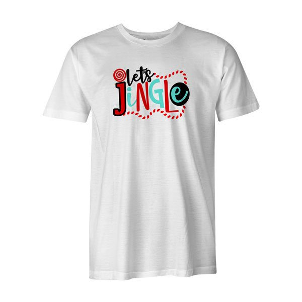 Lets Jingle T Shirt White