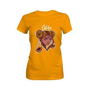 Libra T shirt gold