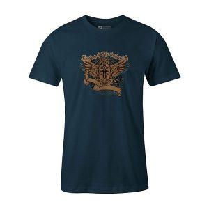 Lost Soul T shirt indigo