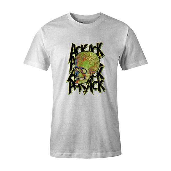 Martian T shirt white