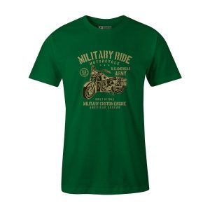 Military Ride T Shirt Kelly