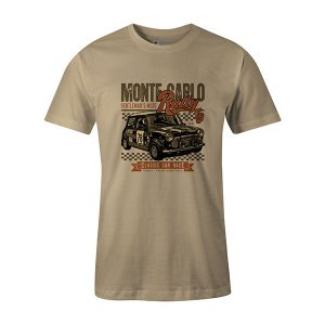 Mini Race T shirt natural