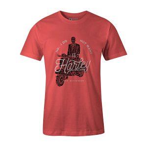 Mod Weekender T shirt coral
