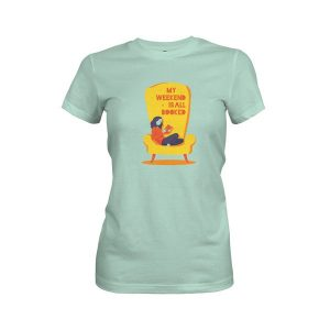 My Weekend Is Booked T Shirt Mint