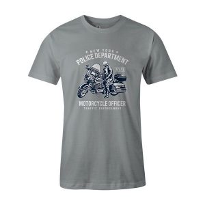 NYPD T Shirt Silver