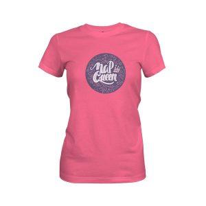 Nap Queen T Shirt Hot Pink