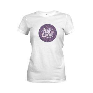 Nap Queen T Shirt White