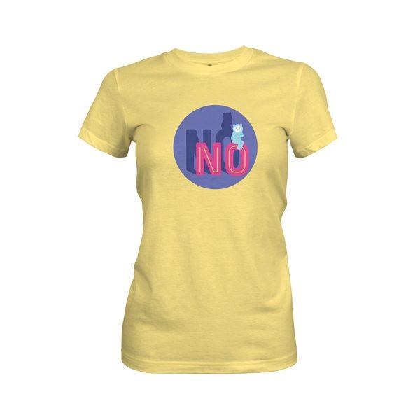 No T Shirt Banana Cream