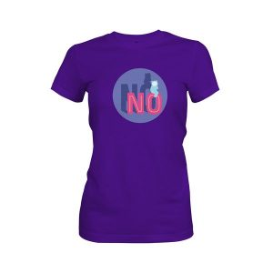 No T Shirt Purple Rush