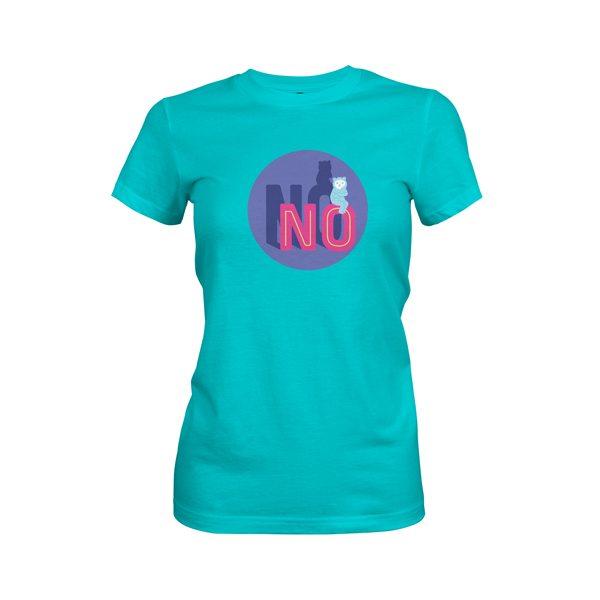 No T Shirt Tahiti Blue