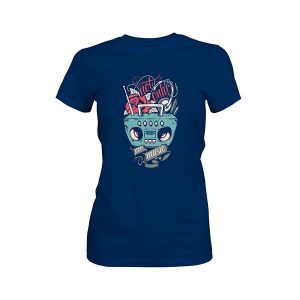 Not Only For Music T shirt cool blue
