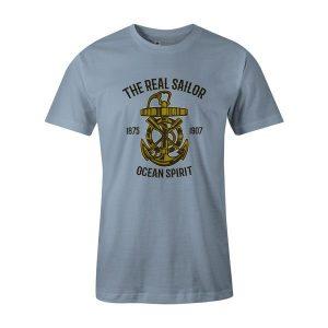 Ocean Spirit T Shirt Baby Blue