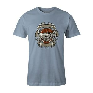 Other Side T Shirt Baby Blue