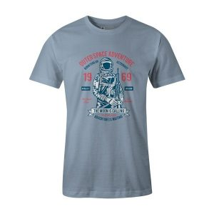 Outerspace Adventure 69 T Shirt Baby Blue