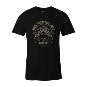 Outlaw T Shirt Black
