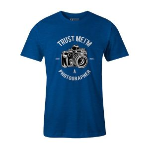 Photographer T Shirt Heather Royal