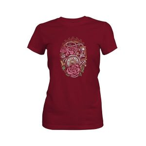 Precious Time T shirt cardinal