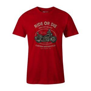 Ride or Die T Shirt Red