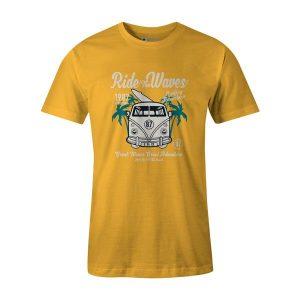 RideThe Waves T Shirt Sunshine