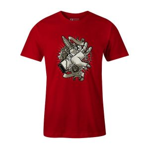 Sacrifice T Shirt Red