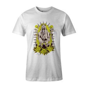 Santa Muerte T Shirt White