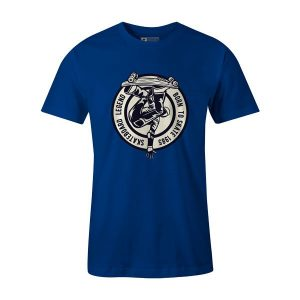 Skateboard Legend T Shirt Royal