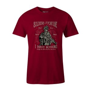 Soldiers of Fortune T Shirt Cardinal