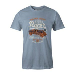 Speed Racer 89 T Shirt Baby Blue