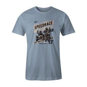 Speedrace T Shirt Baby Blue