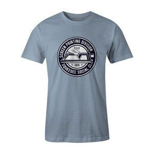 Squeegee Social Club T Shirt Baby Blue