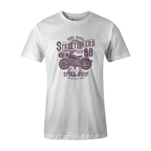 Street Bikers T Shirt White