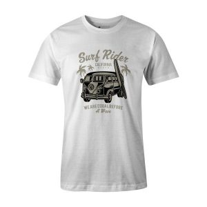 Surf Rider T Shirt White