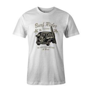 Surf Rider T Shirt White