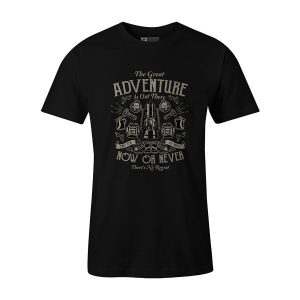 The Great Adventure T Shirt Black