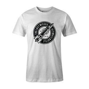 The Last Missile T Shirt White