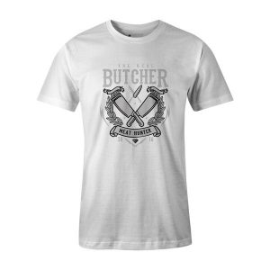 The Real Butcher T Shirt White