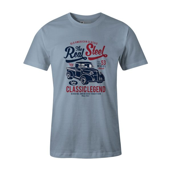 The Real Steel Shirt Baby Blue