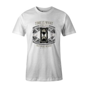 Time T Shirt White