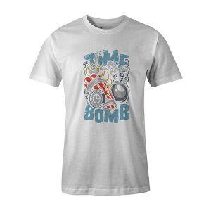 Time Bomb T shirt white