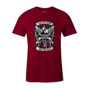 Torch T Shirt Cardinal