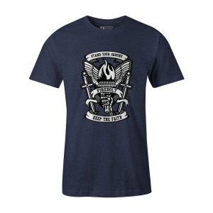 Torch T Shirt Heather Denim