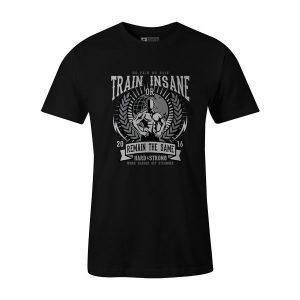 Train Insane T Shirt Black