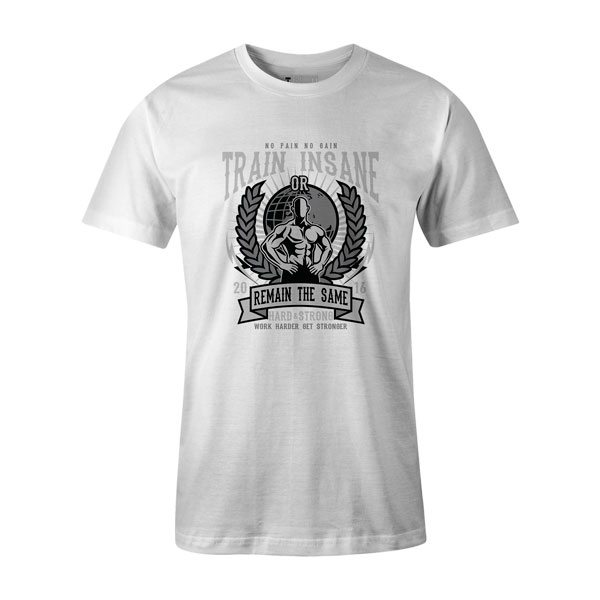 Train Insane T Shirt White