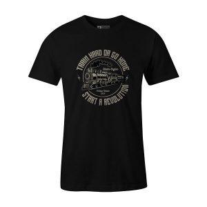 Train T Shirt Black