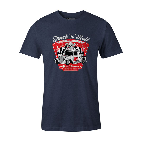 Truck N Roll Heather Denim