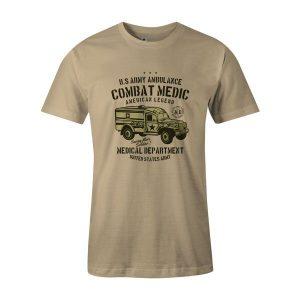 US Army Ambulance T Shirt Natural