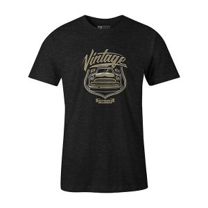 Vintage Car T shirt heather graphite